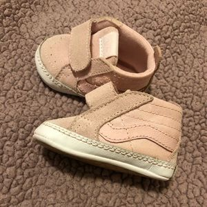 Brand new Infant Light pink Vans. Baby shoes 0-3m